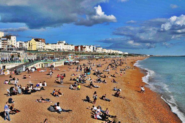 Brington Plajı İngiltere