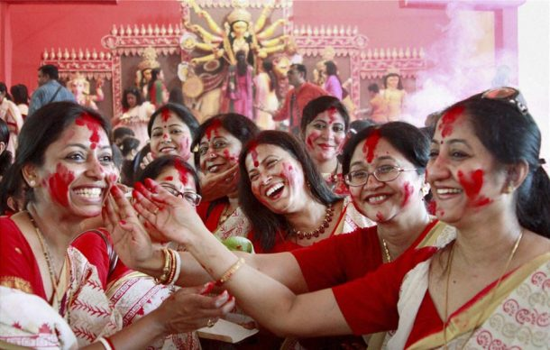 Durga Puja'da hangi gün ne var