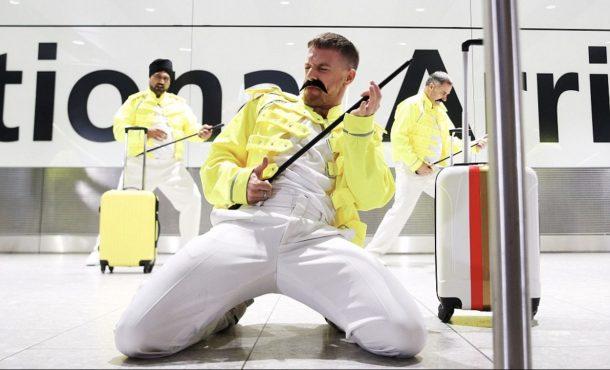 Freddie Mercury adına gösteri düzenlendi-mercury