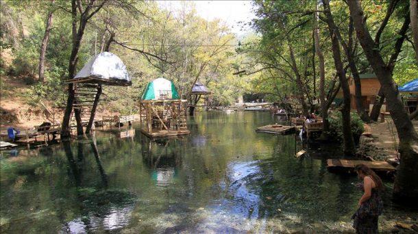 Fethiye Yeşil Vadi'deki su üstünde sıra dışı tatil imkanı ilgi çekiyor!