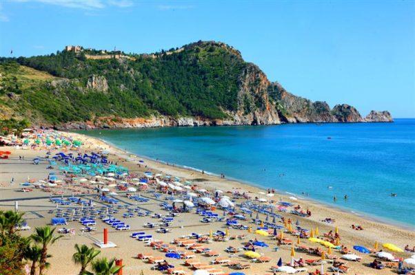 Kleopatra Plajı antalya Türkiye