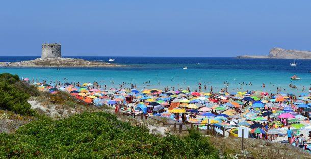 La Pelosa Plajı İtalya