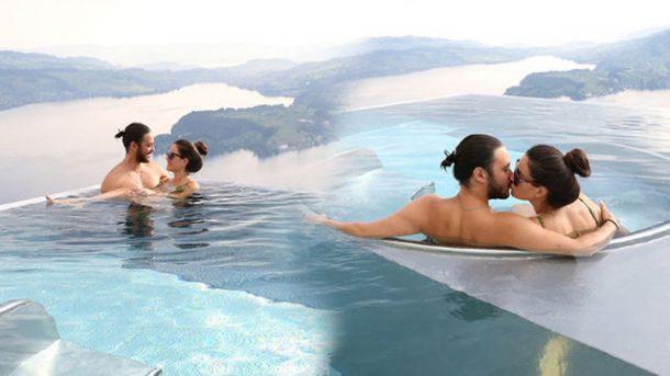 Pelin Akil ve Anil Altan Mykonos tatilinde aşk tazeliyor