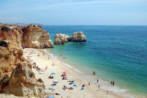 Praia da Rocha Portekiz