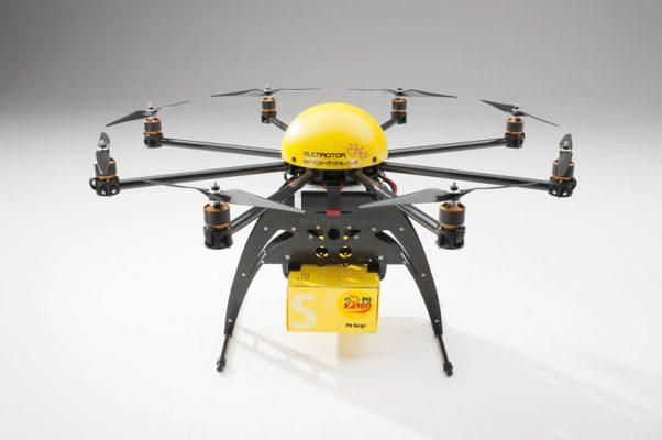 PTT drone ile Bostancı-Adalar arasında kargo taşıyacak!