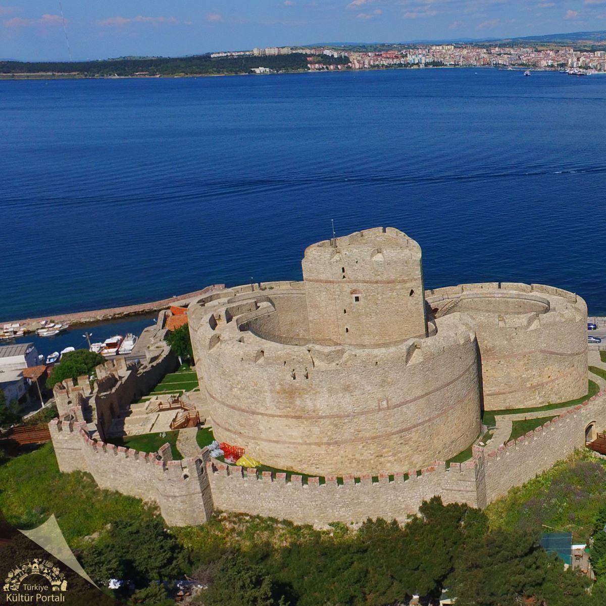 Türkiye'nin en görkemli kaleleri Kilitbahir Kalesi-Çanakkale