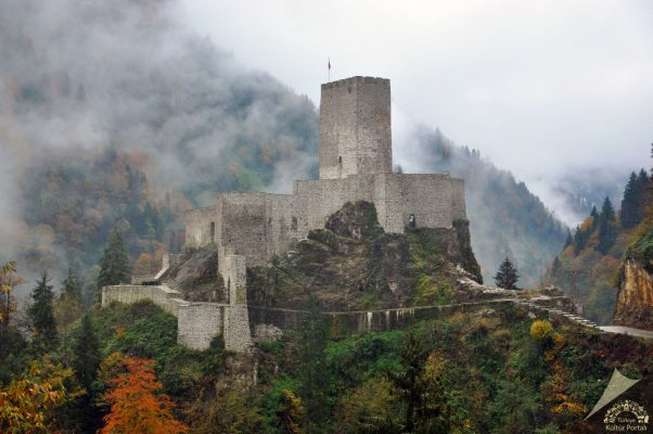 Türkiye'nin en görkemli kaleleri! Zilkale-Rize