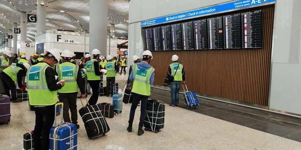Yeni Havalimanı'nda 1000 kişinin katıldığı ilk yolcu testi başarıyla gerçekleştirildi!