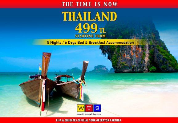Yeryüzünün cenneti Phuket sadece 499 TL