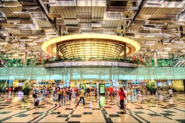 Changi Airport sırada Terminal 5 var