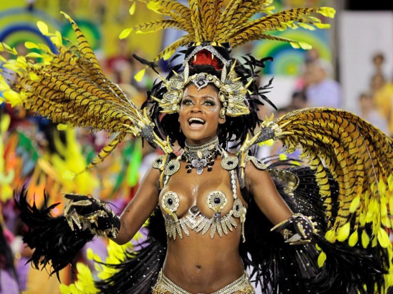 Brezilya'nın dünyaca ünlü Rio Karnavalı yaklaşıyor
