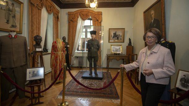 Cumhuriyet'in tanığı Pembe Köşk'ü 57 bin kişi ziyaret etti!