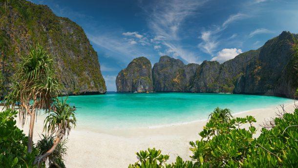 Di Caprio'nun filmiyle ünlenen Ko Phi Phi Leh Adası'ndaki Maya Koyu kapatıldı!