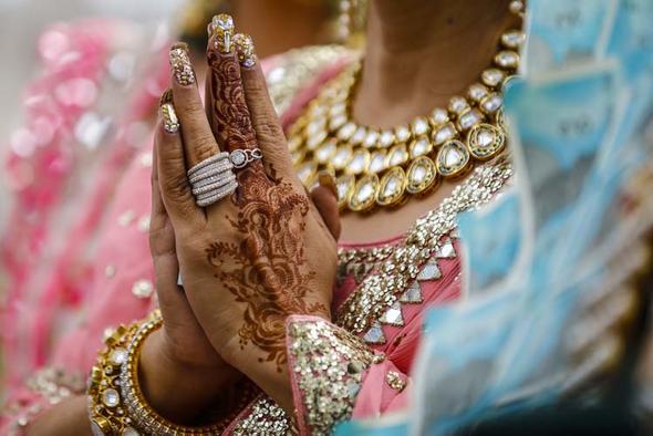 Hint düğünü için 1.5 milyon dolar harcandı