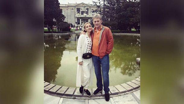 Kremlin sözcüsü Dmitri Peskov ve eşi Tatyana Navka İstanbul'u gezdi!