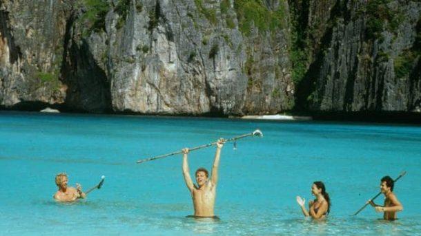 Tayland Ko Phi Phi Leh Adası Maya koyu kapatıldı