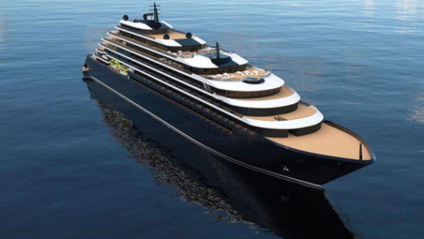 Ritz-Carlton'un ilk 'yüzen oteli' denize indirildi!