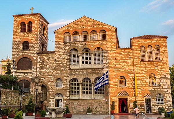 Selanik'in koruyucusu Aya Dimitri Kilisesi