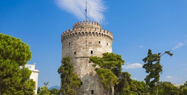 Selanik'in ünlü Beyaz Kule'si