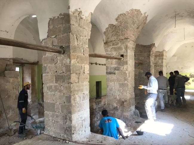 Er-Rızk Cami de taşınıyor