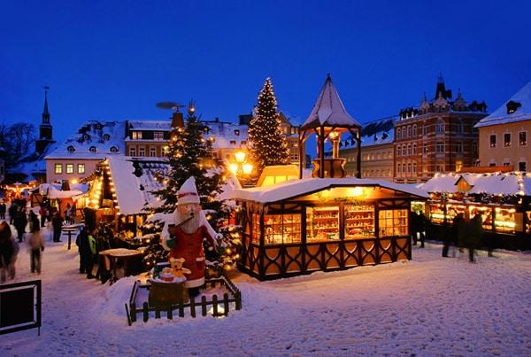Brugge'de Noel pazarı bir başka