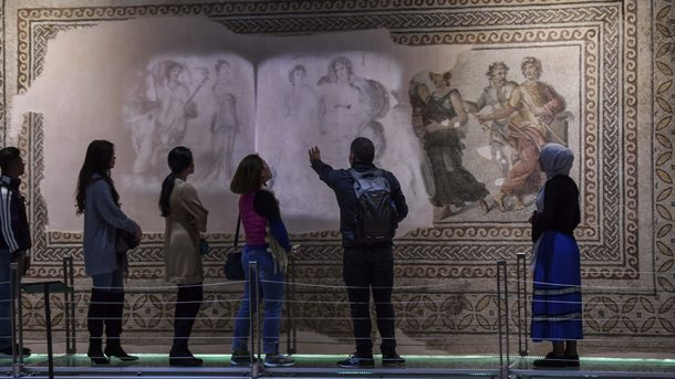 Çingene Kızı Zeugma Mozaik Müzesi'nde sergilenecek