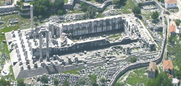Didim'deki 2 bin yıllık Apollon Tapınağı sulara gömülüyor