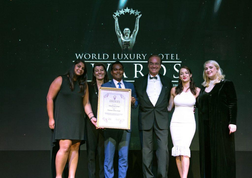 Dünyanın en iyi lüks otelleri ödül töreni Bali'de yapıldı.