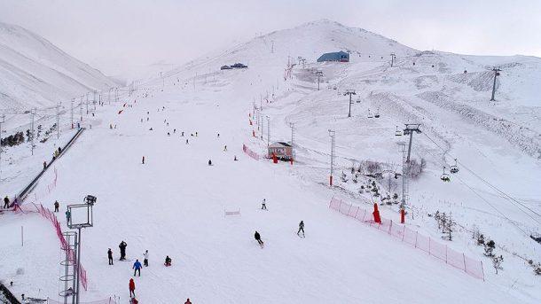 Dünyının en uzun kayak pistlerinin bulunduğu Palandöken