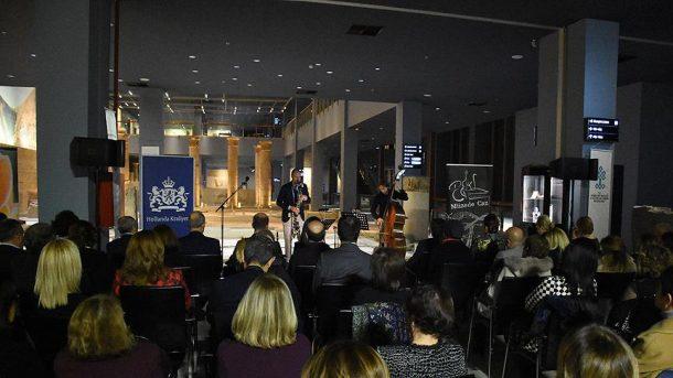 Hollanda Kraliyeti Zeugma Mozaik Müzesi'nde caz konseri verdi!