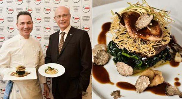 İtalyan mutfağı şef Terracciano'nun menüsü ile İstanbul'da tanıtıldı!