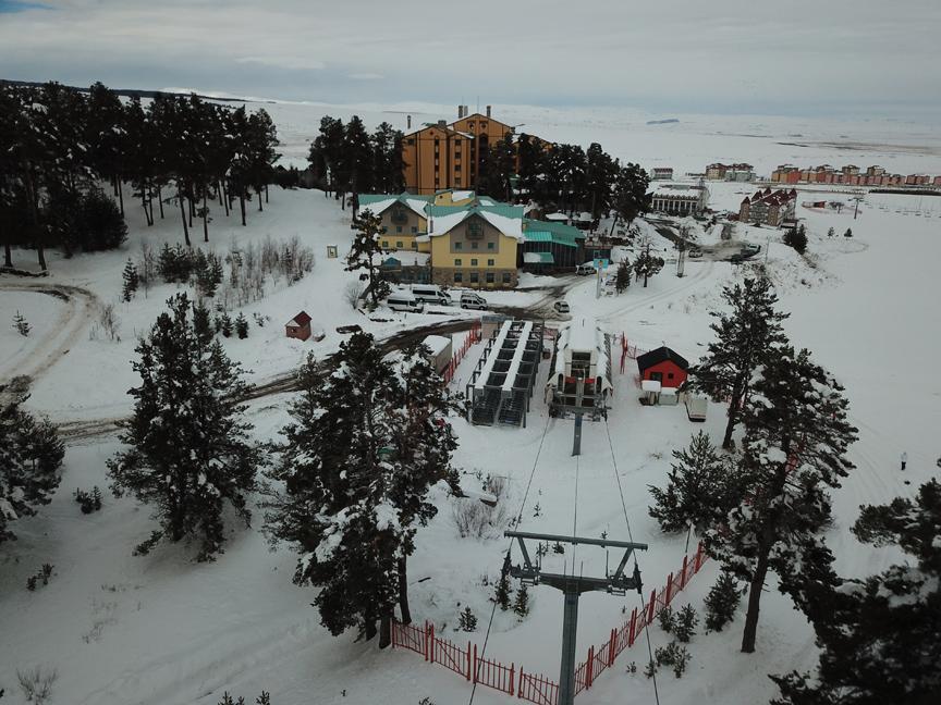 Kars'taki Cıbıltepe Kayak Merkezi yeni sezona iddialı giriyor!