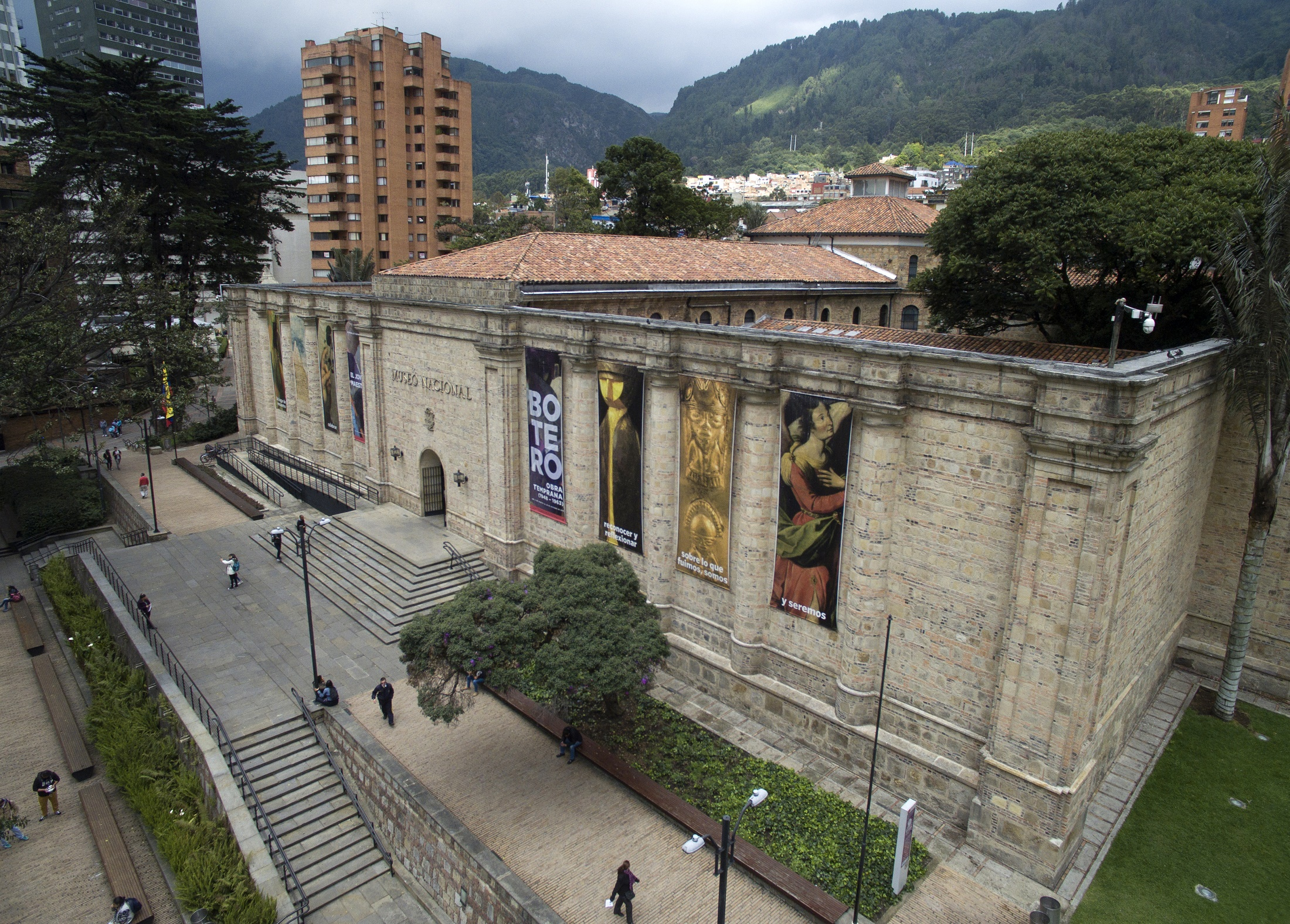 Kolombiya'nın eski hapishane, yeni müzesi Museo Nacional