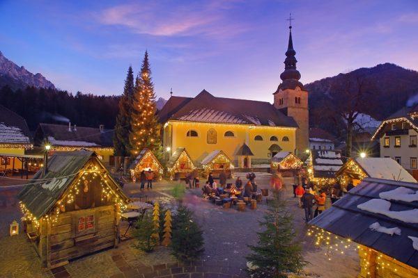 Kranjska Gora Alp Köyü'nü mutlaka ziyaret edin