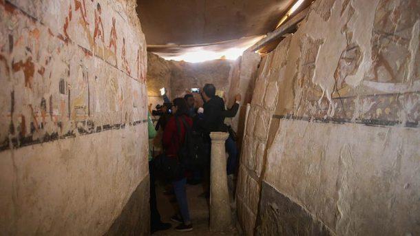 Mısır'da 3 bin 700 yıllık hamile kadın mezarı bulundu!