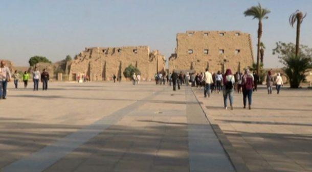 Mısır'da antik alanlar yenilenirken, engelliler de düşünülüyor!