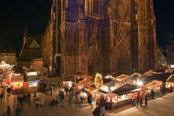 Noel'in başkenti Strazburg