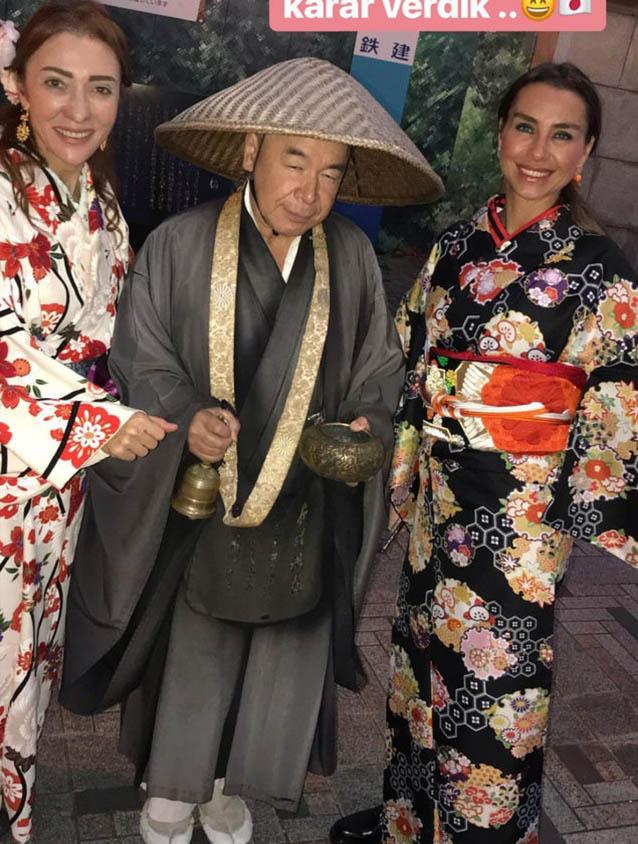 Pervin Ersoy kimono giydi