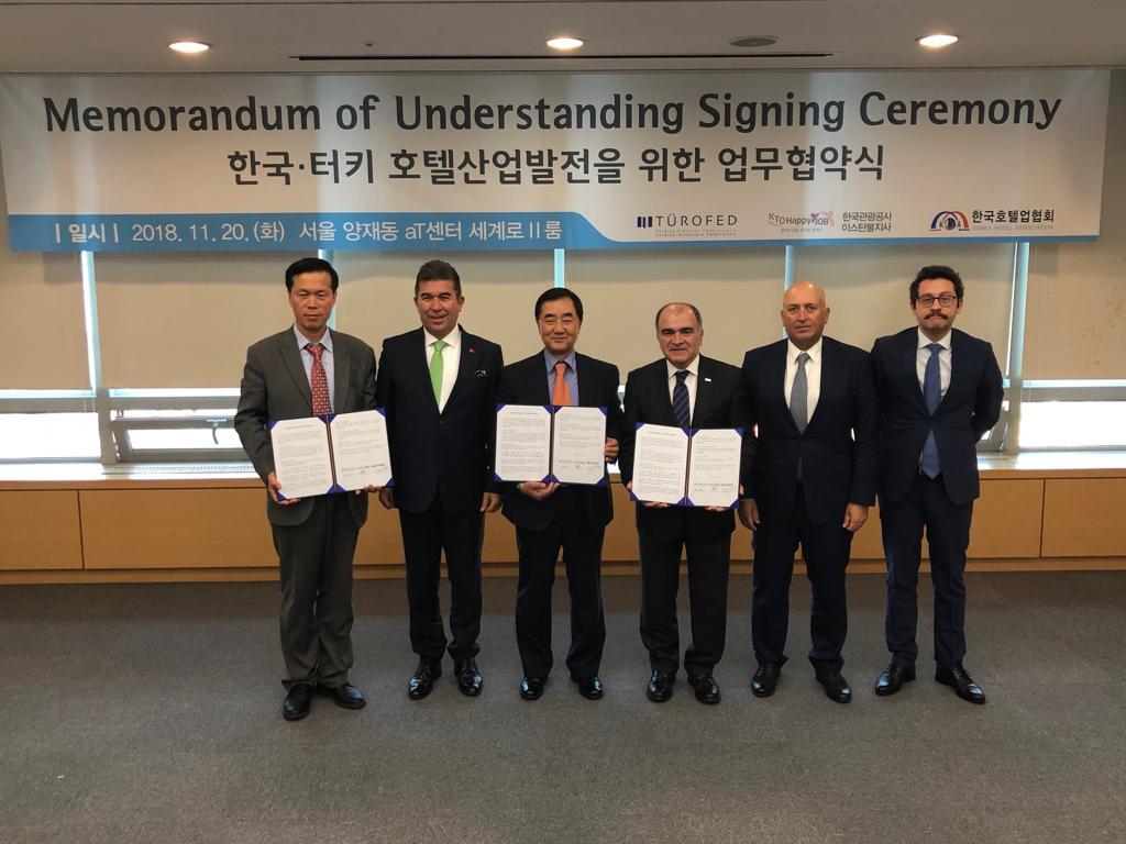 Rotayı Güney Kore'ye çeviren TÜROFED, protokol imzaladı!
