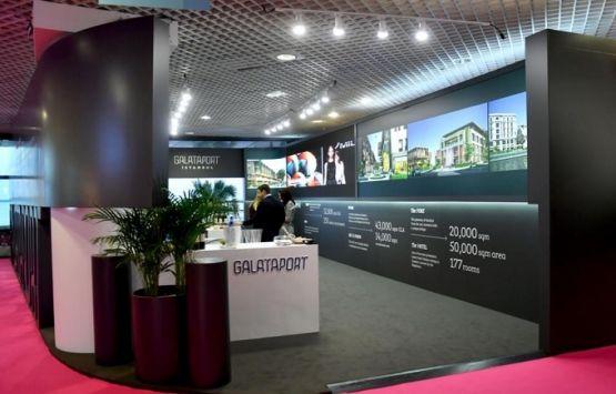 Şahenk ve Bilgili'nin projesi Galataport, Fransa'daki MAPIC 2018'de tanıtıldı!