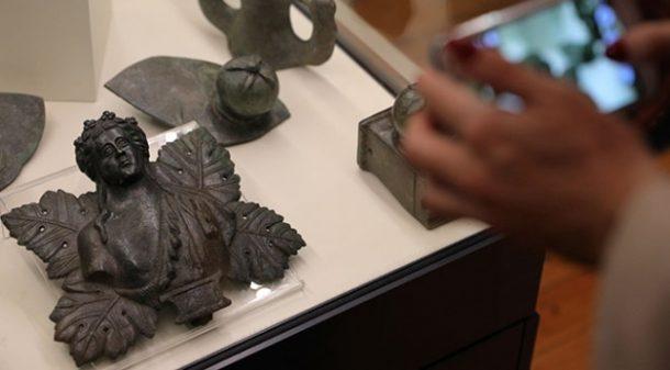 Tarihi eserler Sofya'da sergileniyor