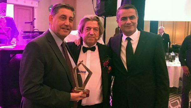 Travel Awards 2018'in En iyi Türkiye uzmanı tur operatörü ödülü Corendon'un