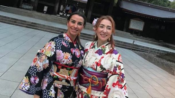 Turizm Bakanı Ersoy ve eşi Uzak Doğu'da!