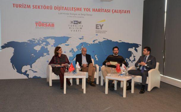 """TÜRSAB'ın """"Turizm Sektörü Dijitalleşme Yol Haritası Çalıştayı"""" gerçekleşti!"""