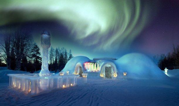 Aurora Borealis Kuzey ışıkları Lapland