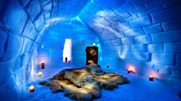 İsveç Icehotel