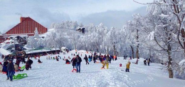 Kartepe Kayak Merkezi'nde rezervasyonların yüzde 90'ı doldu
