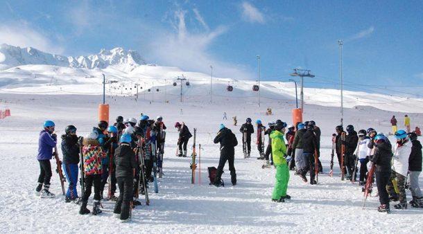 Erciyes Kayak Merkezi Polonyalı turistleri ağırlıyor!