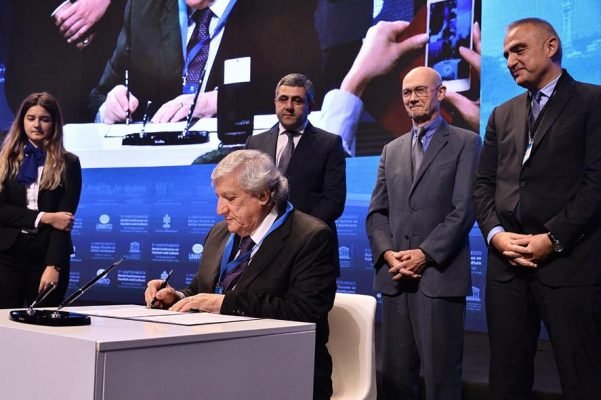 Küresel Etik Kuralları Özel Sektör Bildirgesi imzalandı