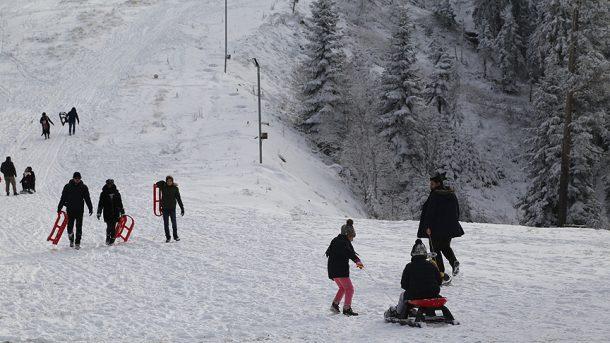 Ilgaz Kayak Merkezi artık kar yağışı bekliyor